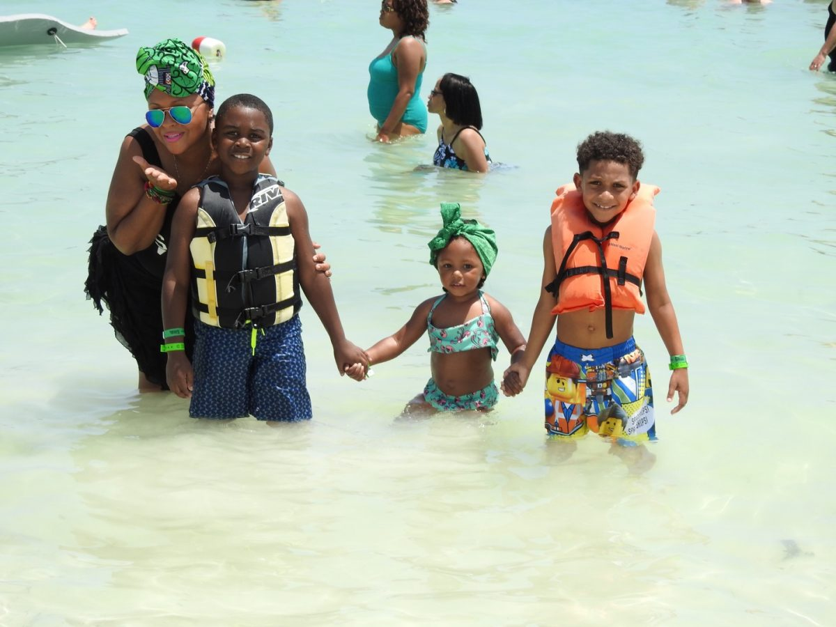 Water safety with kids