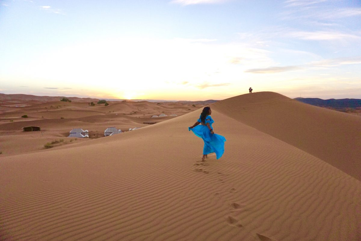 Glamping in the Sahara Desert. What to expect during your stay.