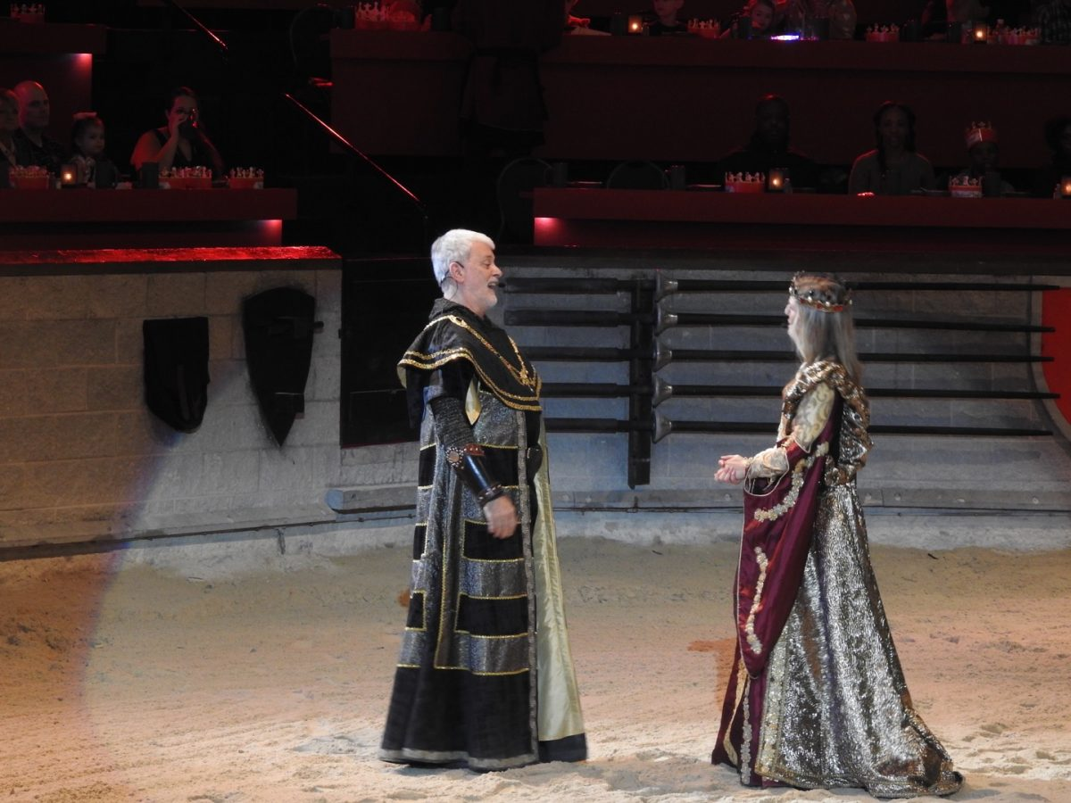All hail the Queen! Medieval Times has a new Ruler in the kingdom.